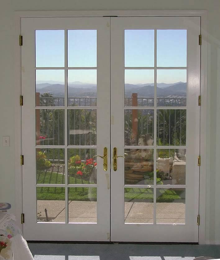 double french doors exterior photo - 3