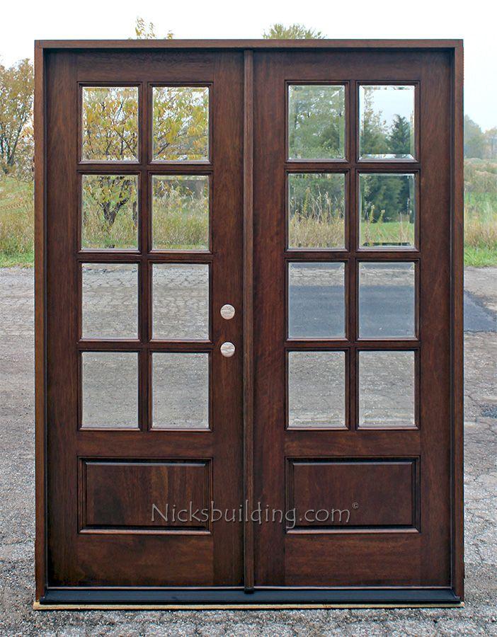 double french doors exterior photo - 5