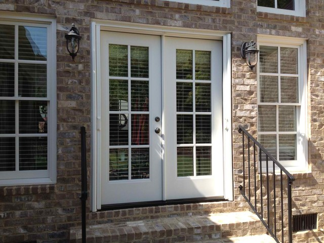 Double French Doors With Screens Photo   2