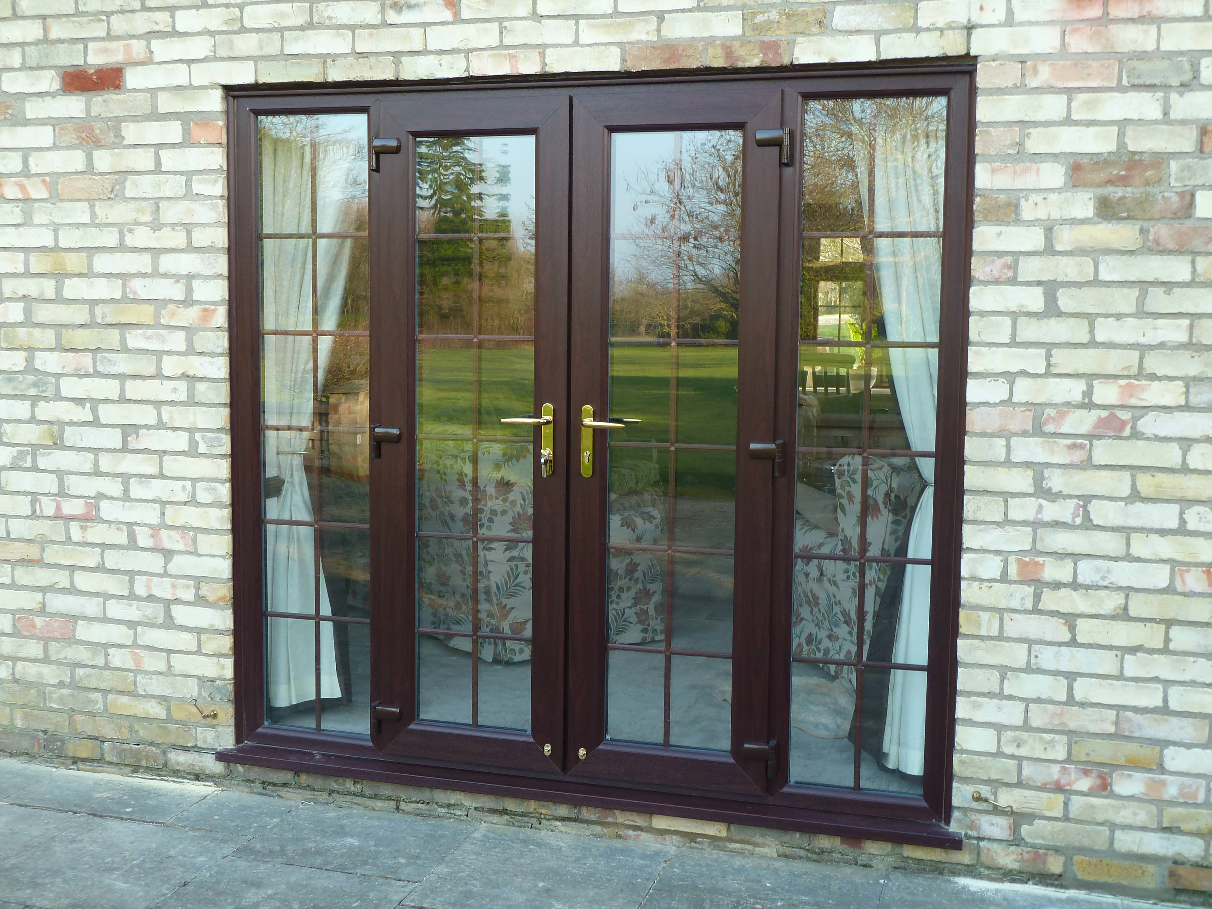 double glazed french doors cost photo - 2