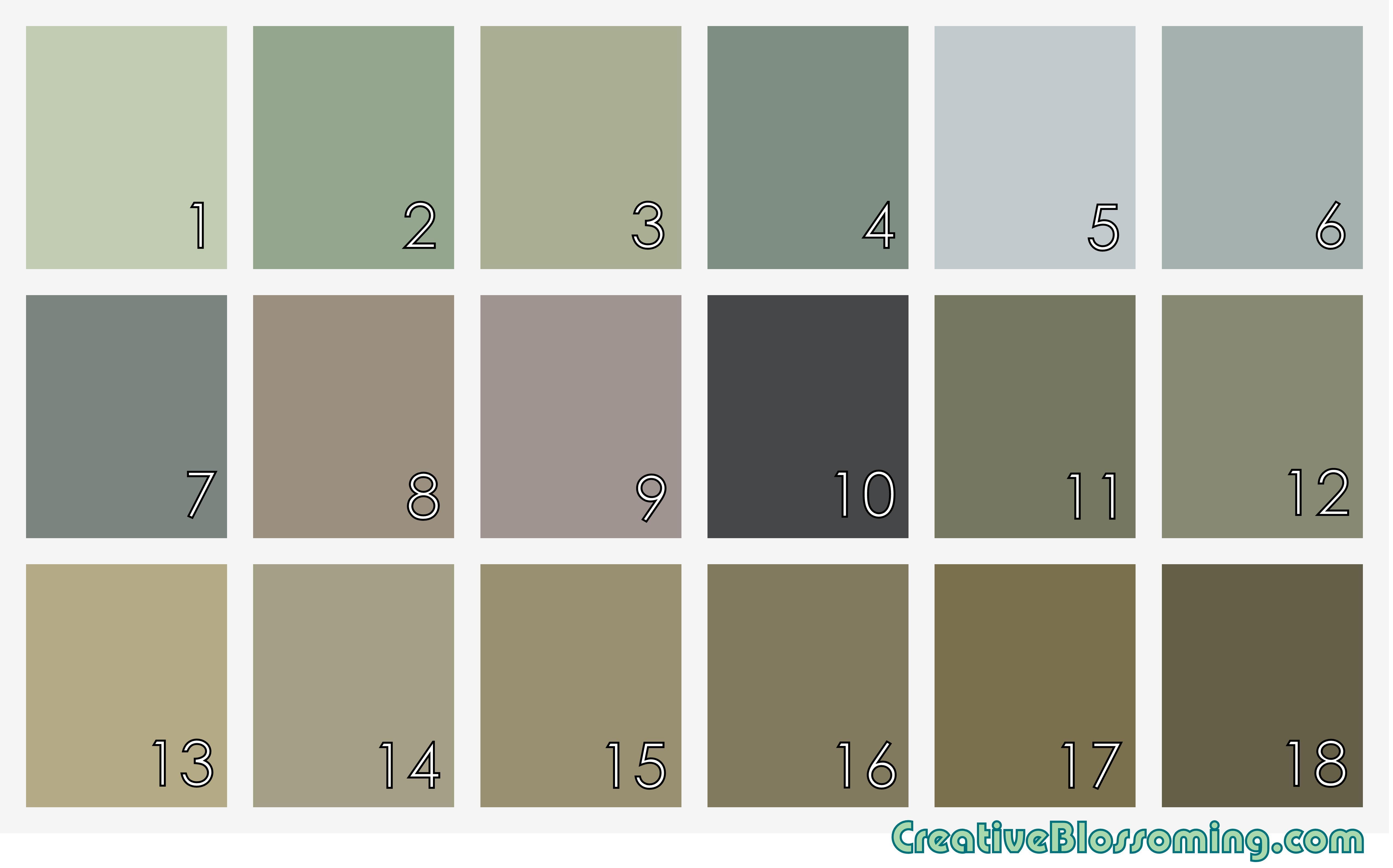 earthy wall paint colors photo - 2