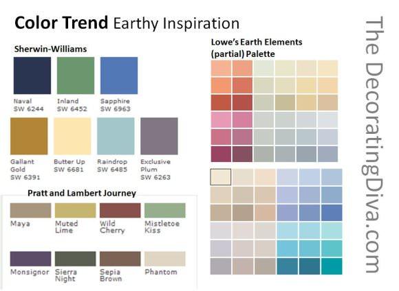 earthy wall paint colors photo - 3
