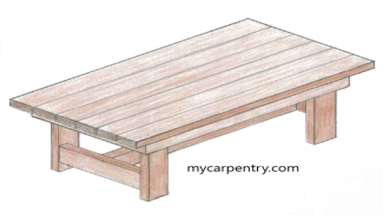 easy coffee table design photo - 4
