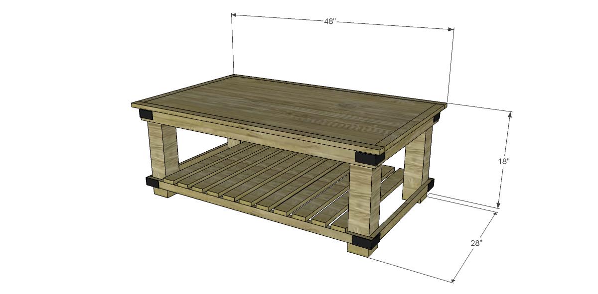 easy coffee table design photo - 8