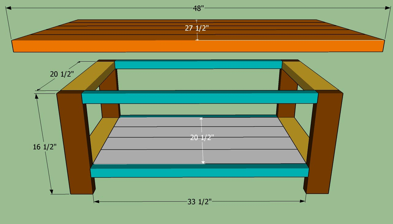 easy coffee table design photo - 9