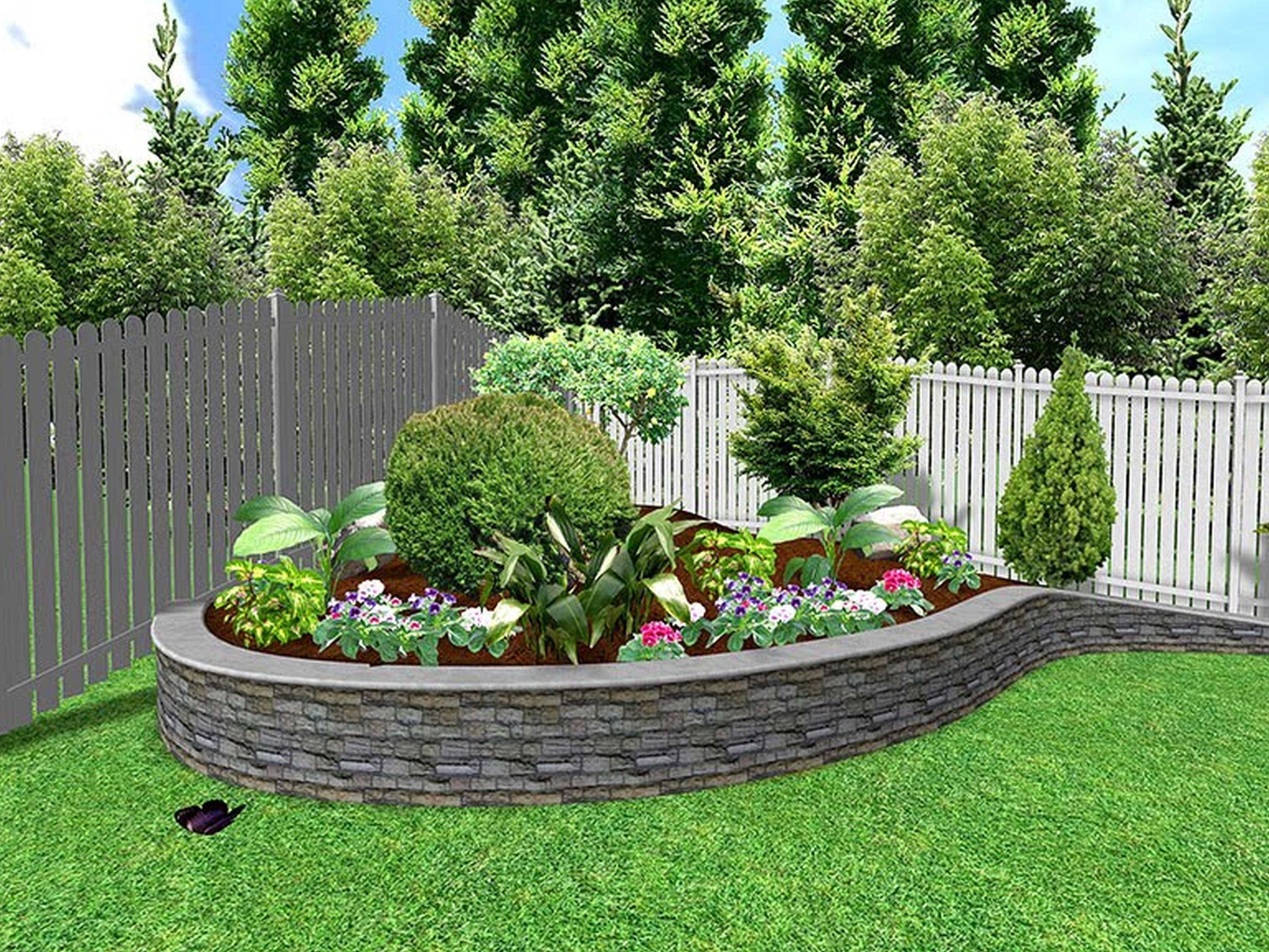 Easy small garden design ideas   Hawk Haven