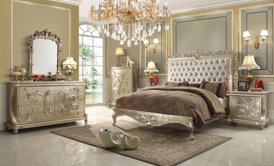 elegant bedroom furniture sets photo - 4
