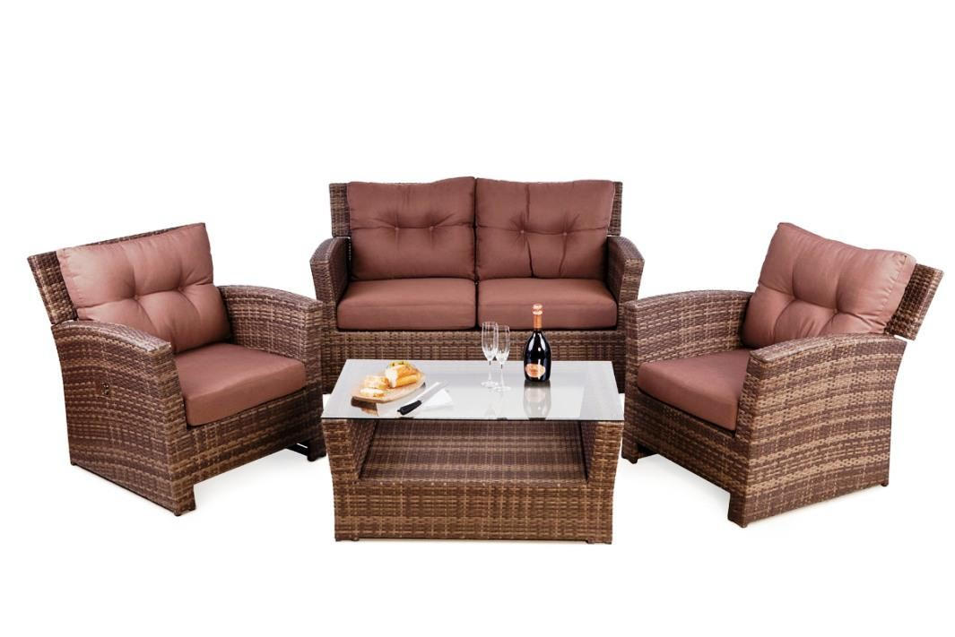 elegant outdoor wicker furniture photo - 10