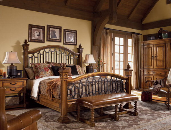 elegant traditional bedroom furniture photo - 7