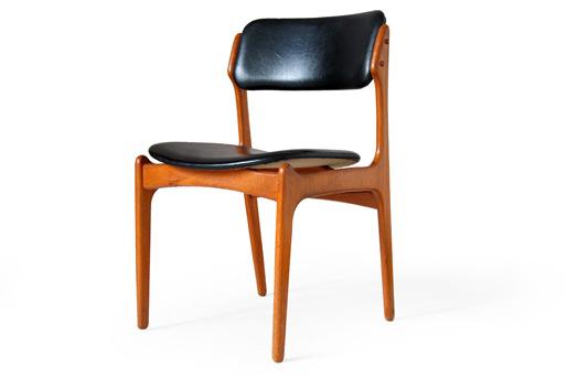 erik buck teak dining chairs photo - 4