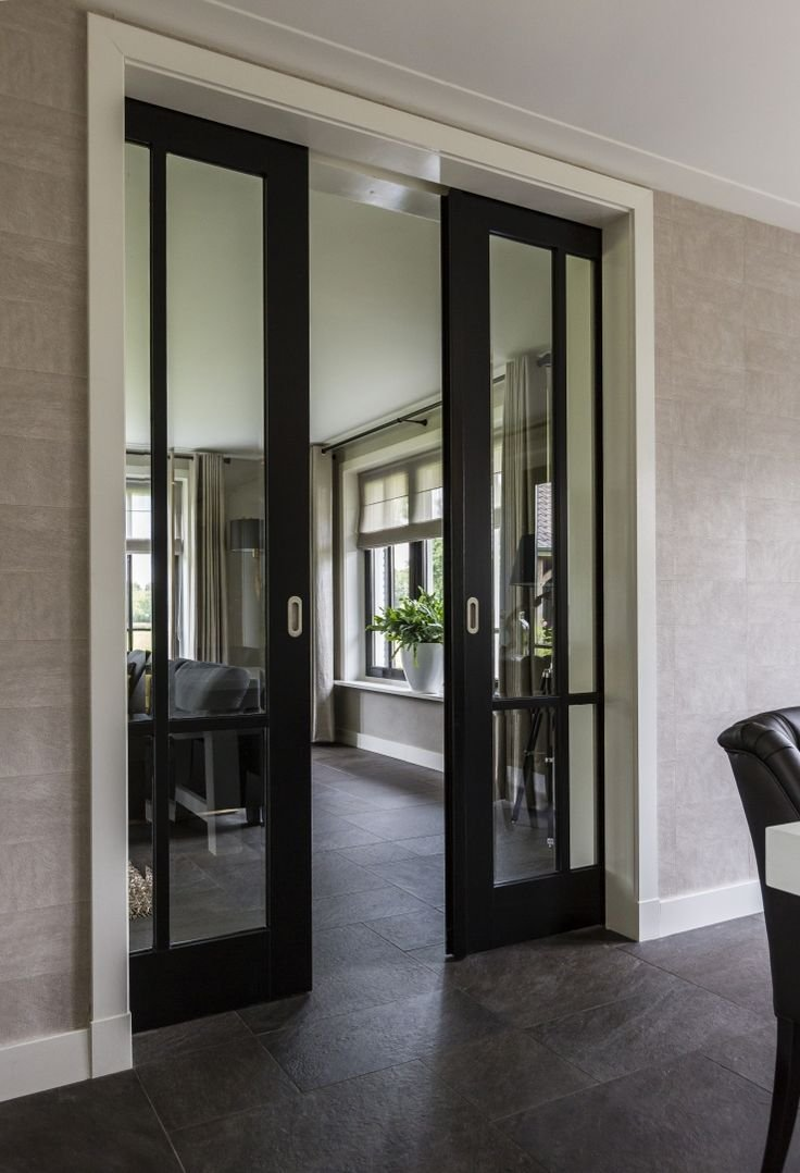 etched interior french doors photo - 10