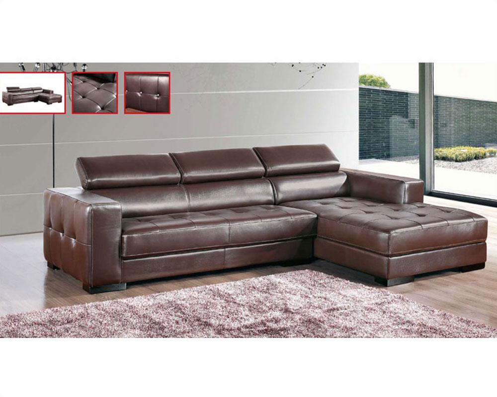 european leather sectional sofas photo - 1