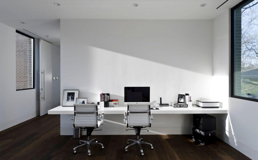 executive office wall decor photo - 2