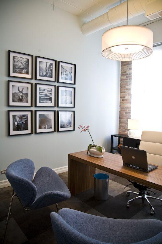 executive office wall decor photo - 5