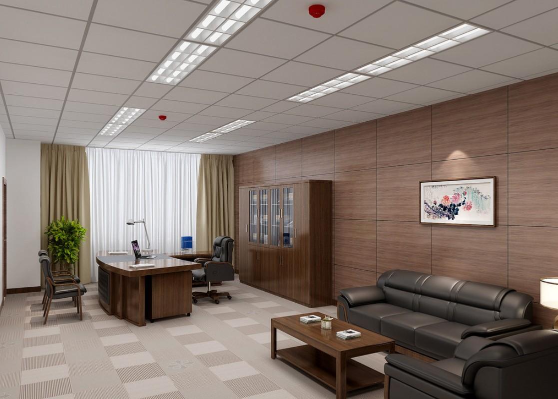 executive office wall decor photo - 6
