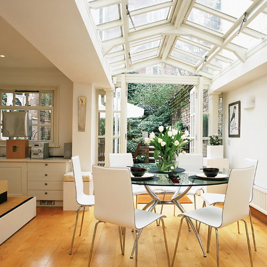 extension design ideas kitchen garden room photo - 10