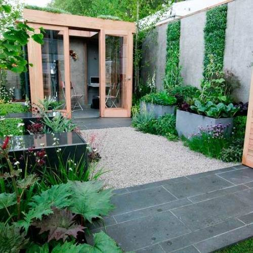 extension design ideas kitchen garden room photo - 2