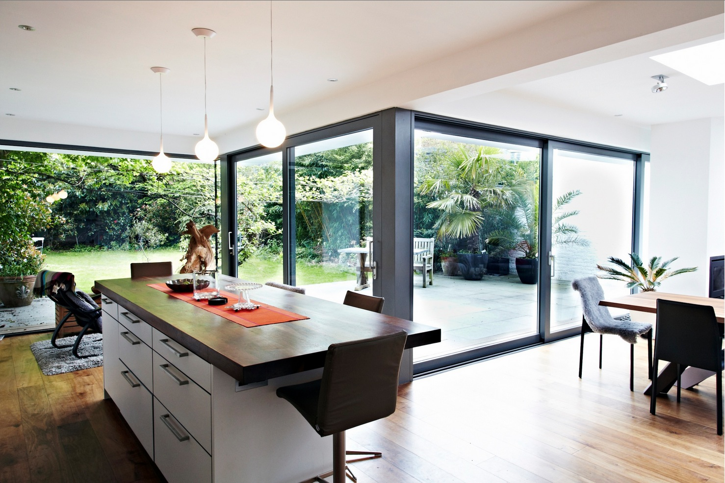 extension design ideas kitchen garden room photo - 7