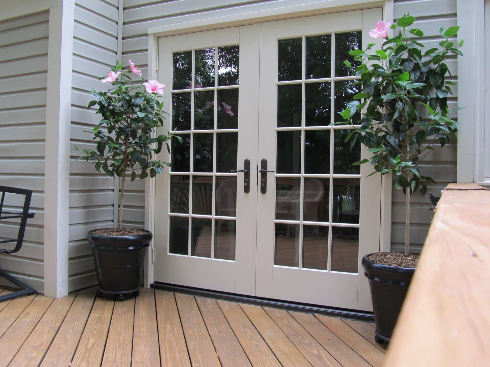 exterior french doors vs sliding doors photo - 2
