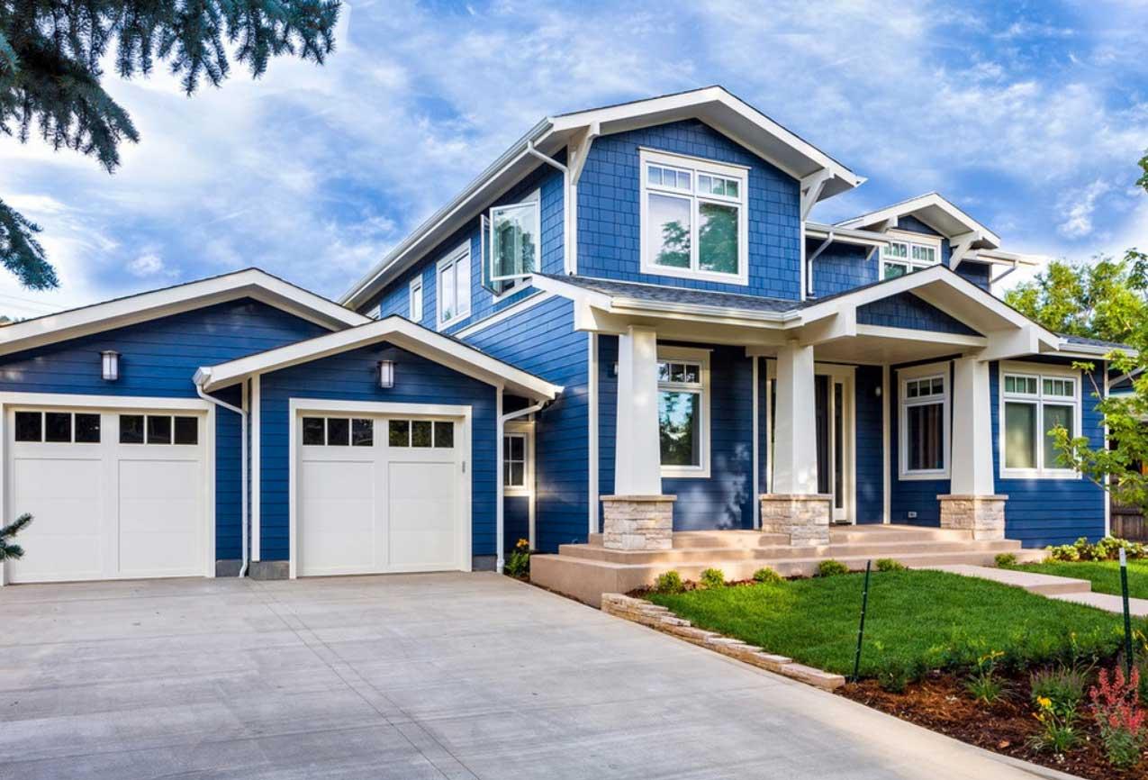 exterior paint colors blue photo - 4