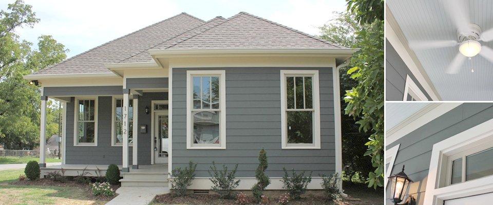 exterior paint colors blue grey photo - 7