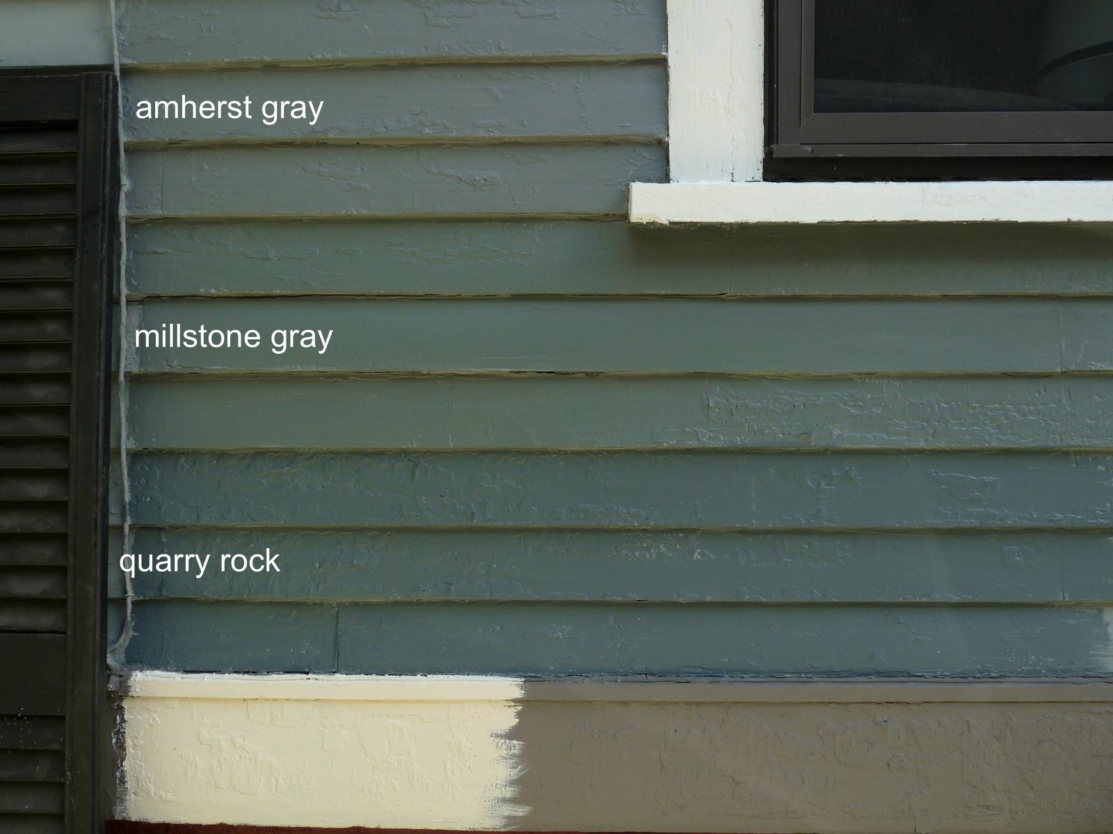 exterior paint colors blue grey photo - 9