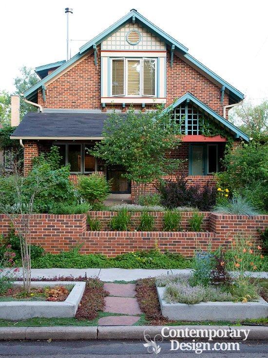 exterior paint colors brick photo - 3