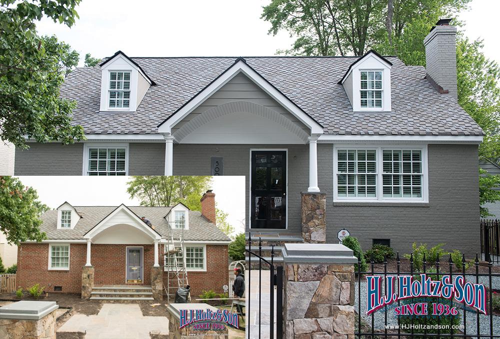 exterior paint colors brick photo - 4