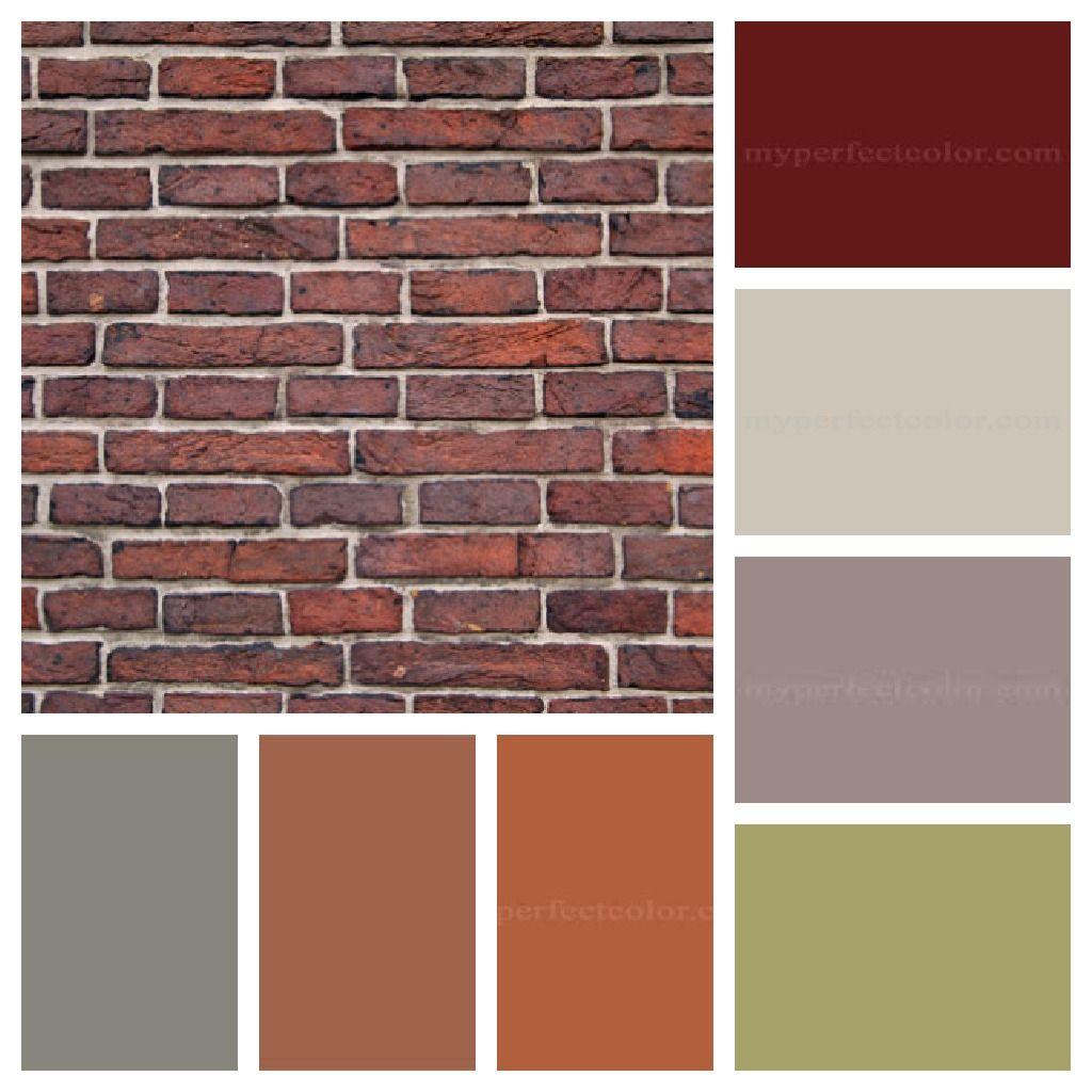 exterior paint colors brick photo - 6