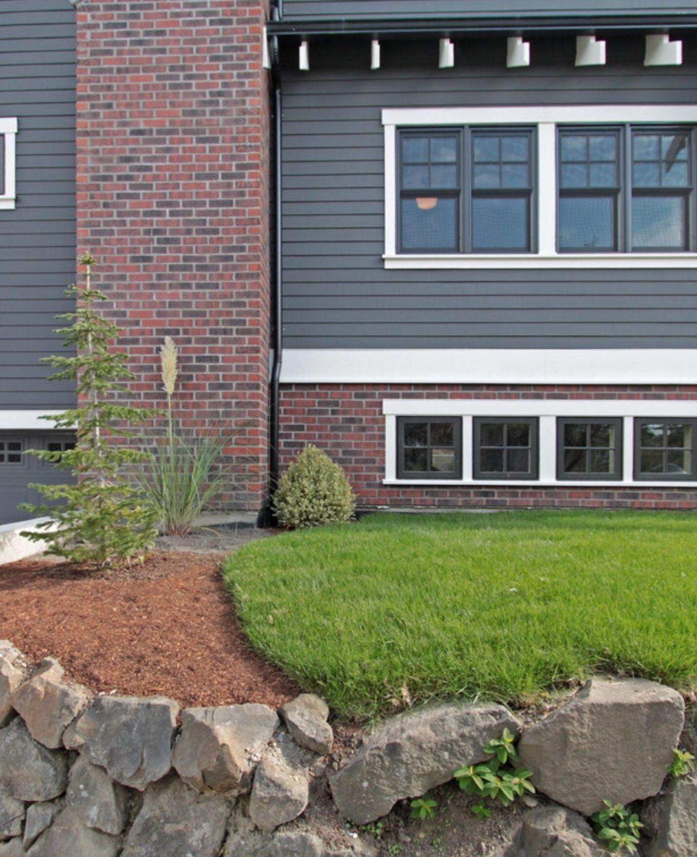 exterior paint colors brick photo - 7