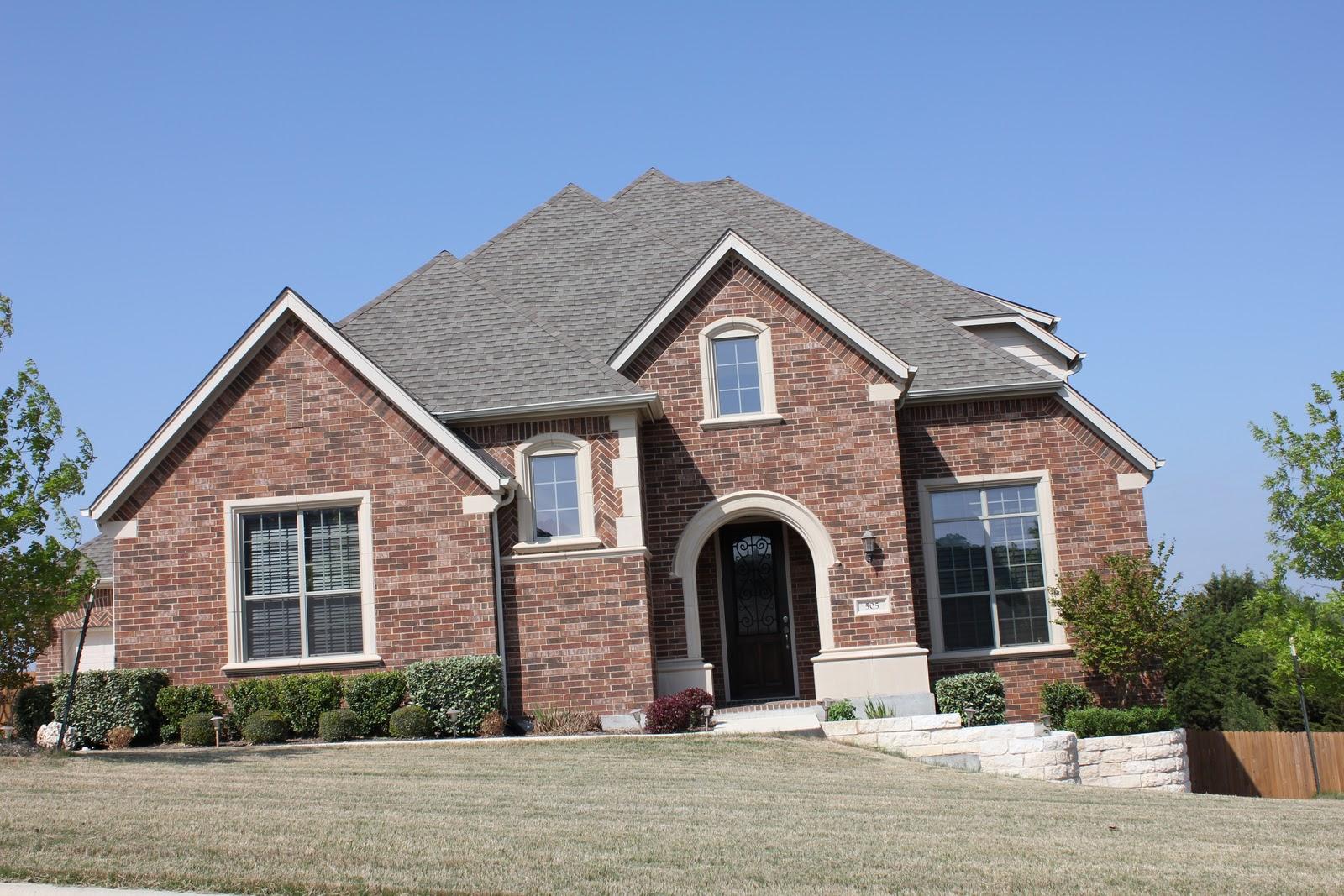exterior paint colors brick photo - 9