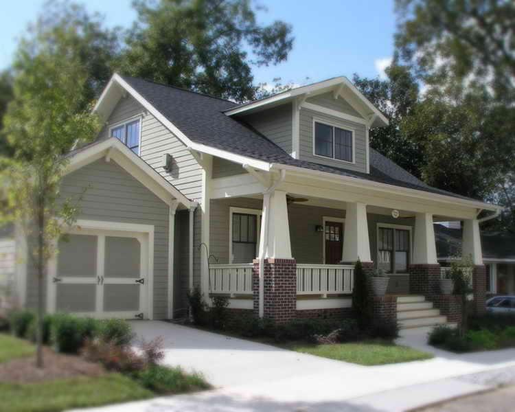 exterior paint colors bungalow photo - 2