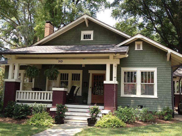 exterior paint colors bungalow photo - 9
