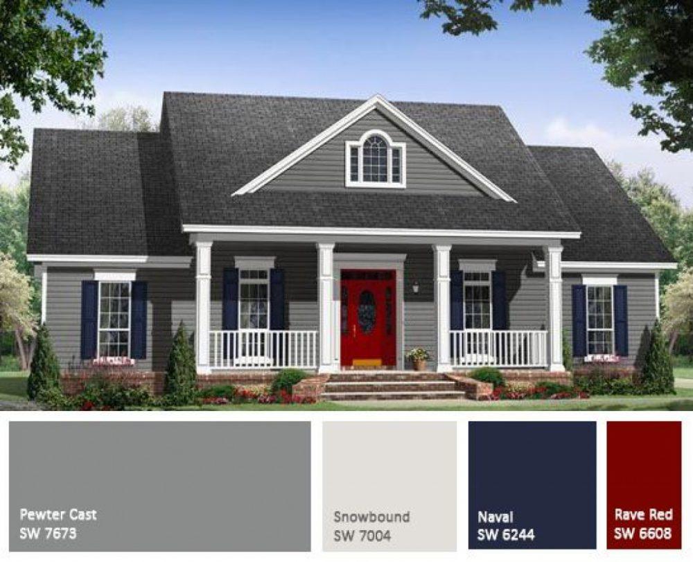 exterior paint colors designs photo - 4