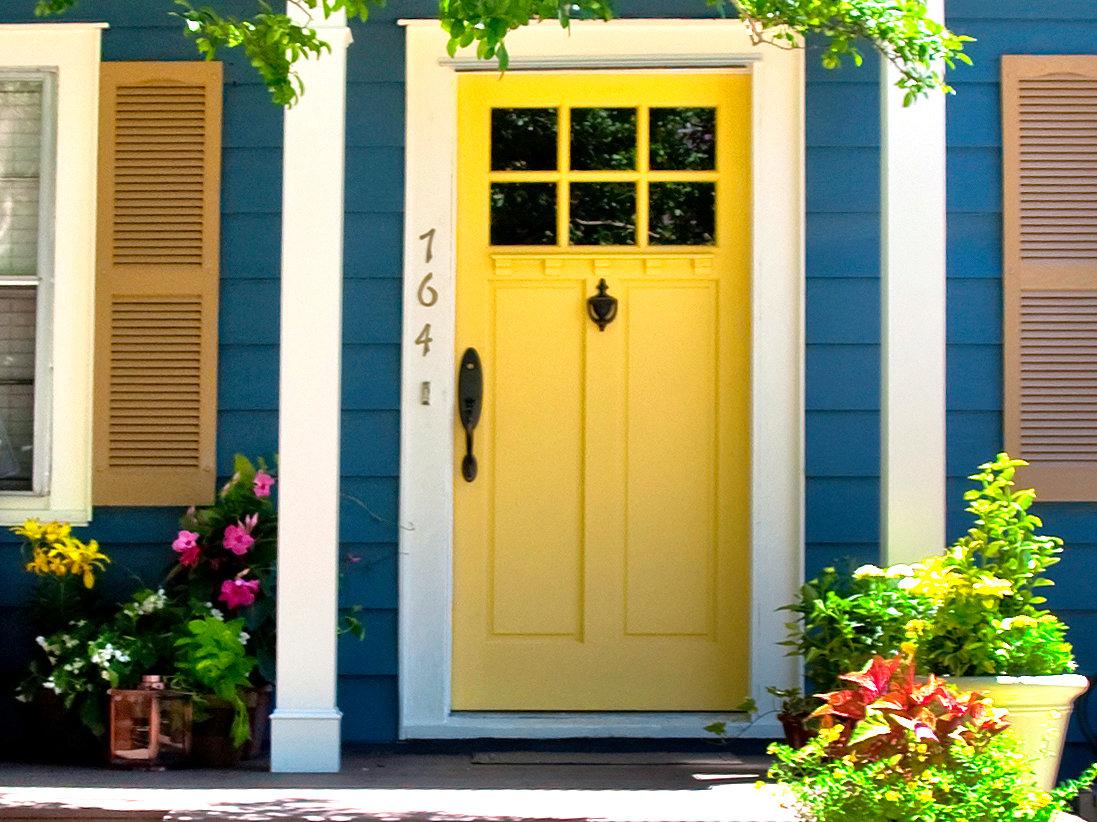 exterior paint colors doors photo - 2