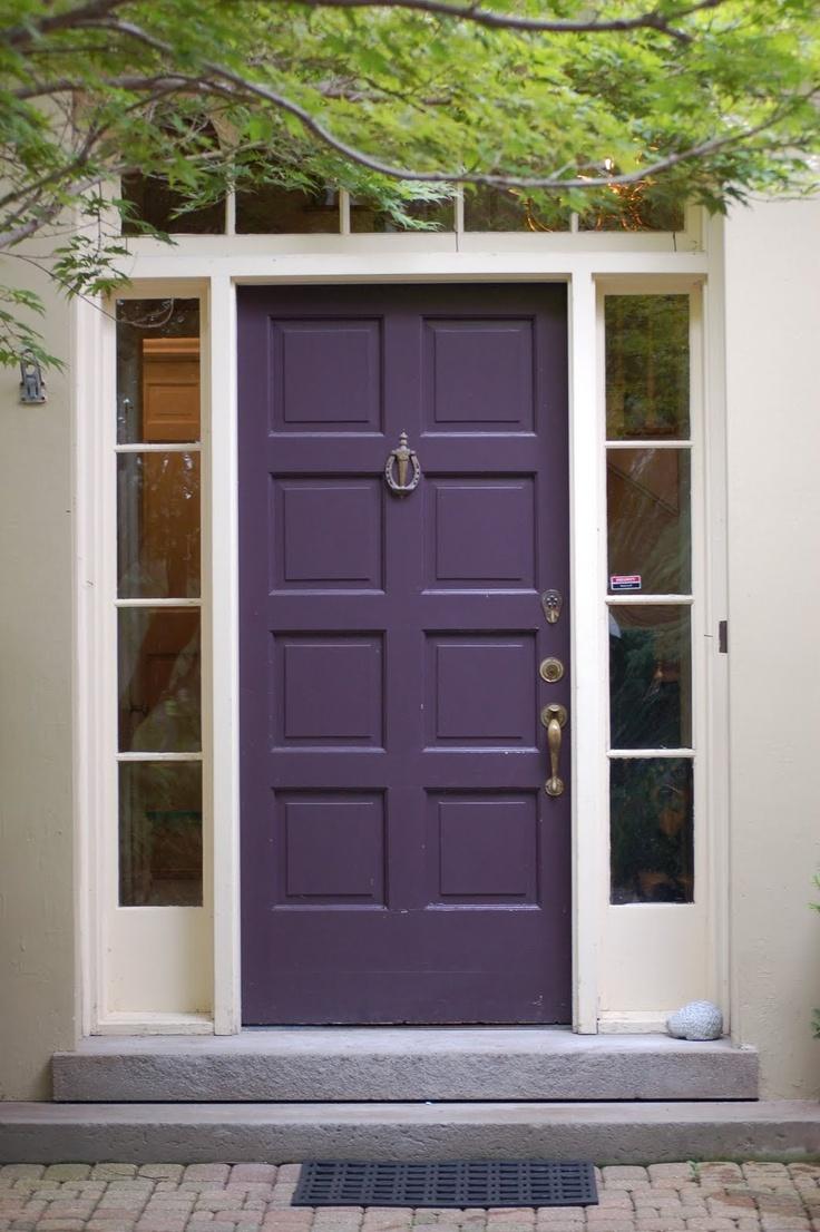 exterior paint colors doors photo - 4