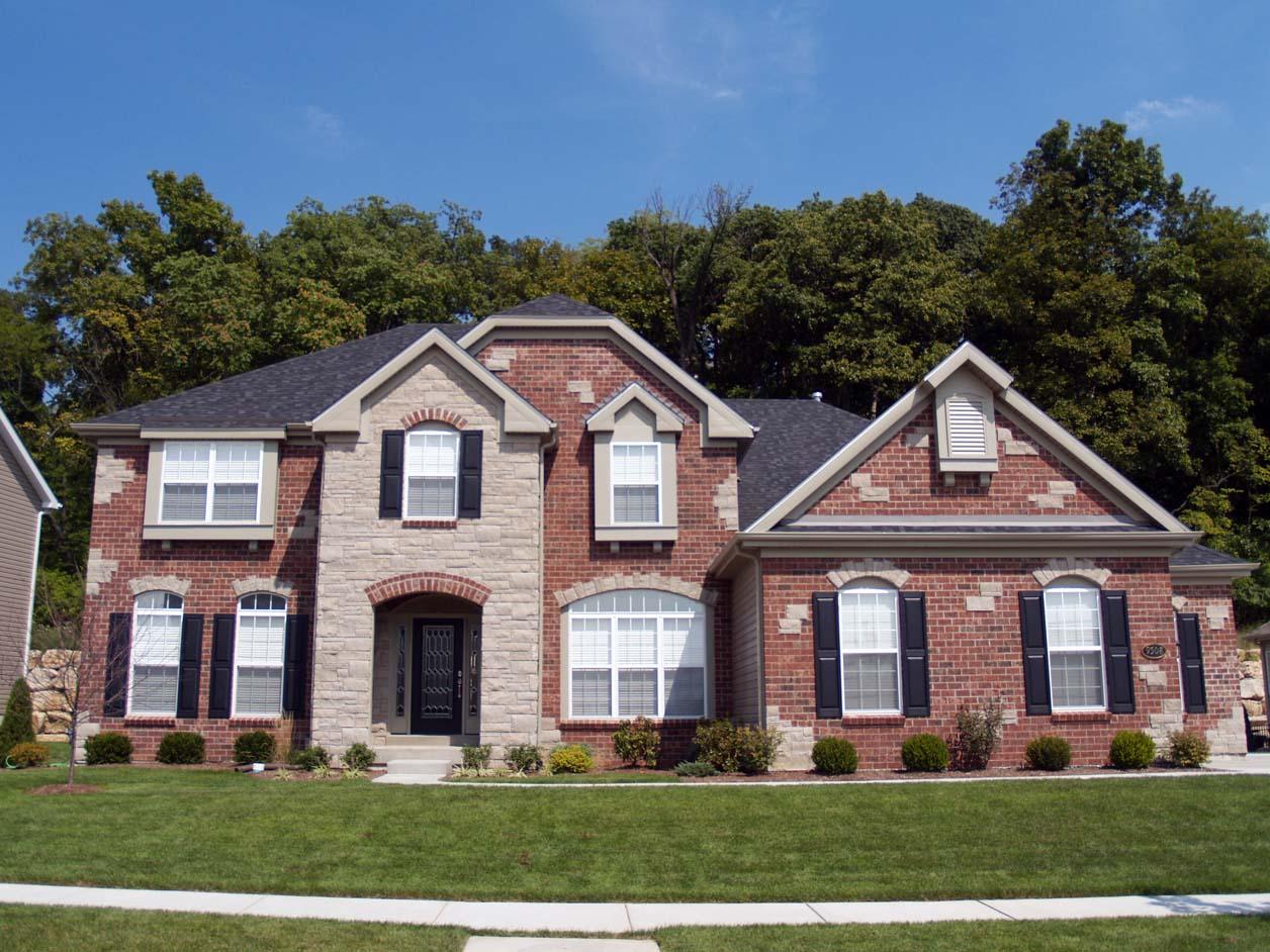 Exterior paint colors for brick homes | Hawk Haven
