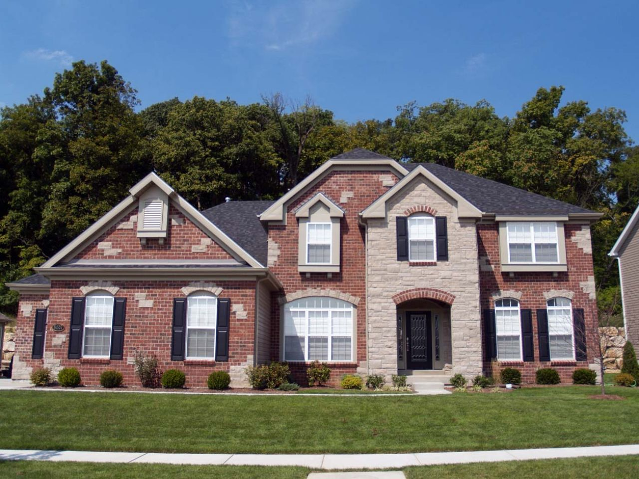 best siding colors with red brick exterior paint colors with red