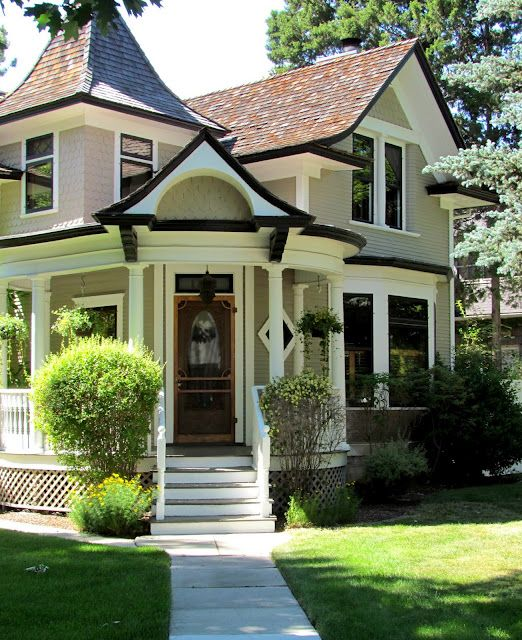 exterior paint colors victorian photo - 1