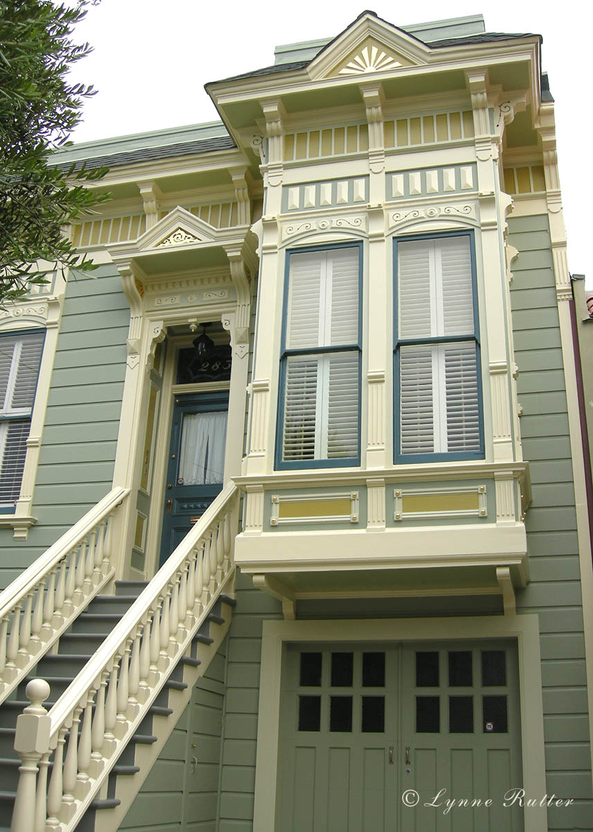 exterior paint colors victorian photo - 4