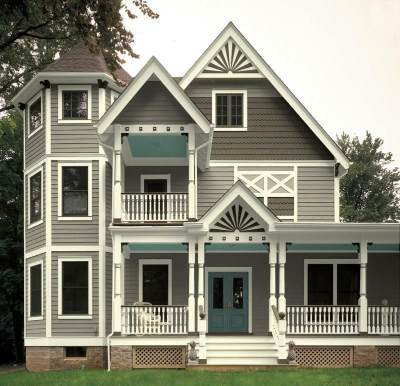 exterior paint colors victorian photo - 6