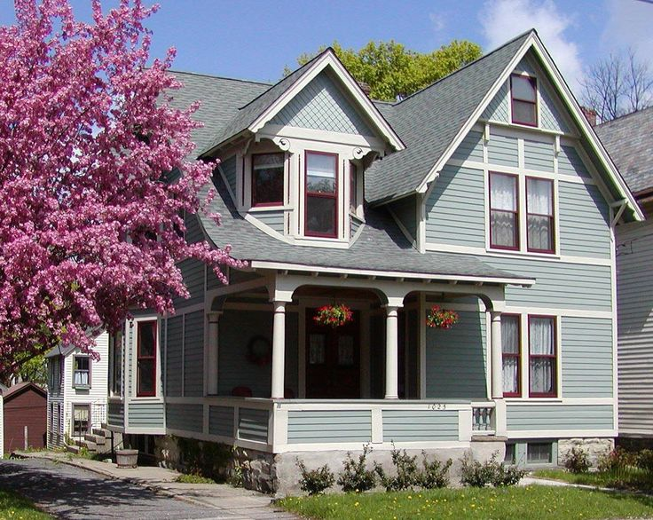 exterior paint colors victorian photo - 8