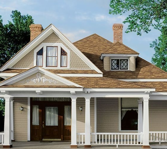 Design collection | Marvellous Exterior House Paint Colors Brown Roof| (44)  ++ New Inspiration
