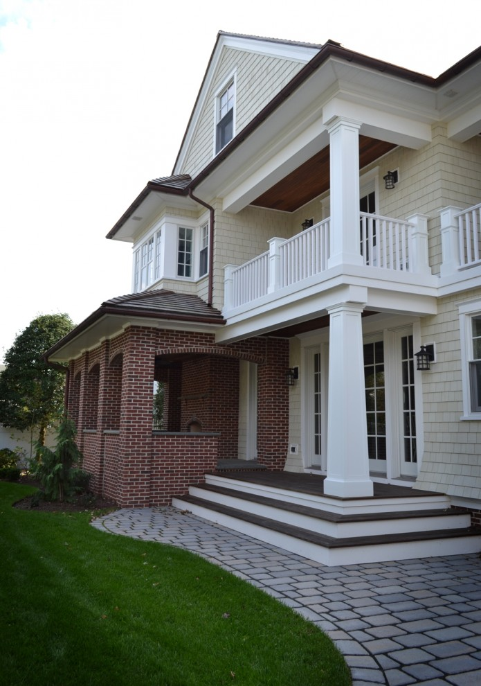 exterior paint colors with red brick photo - 7
