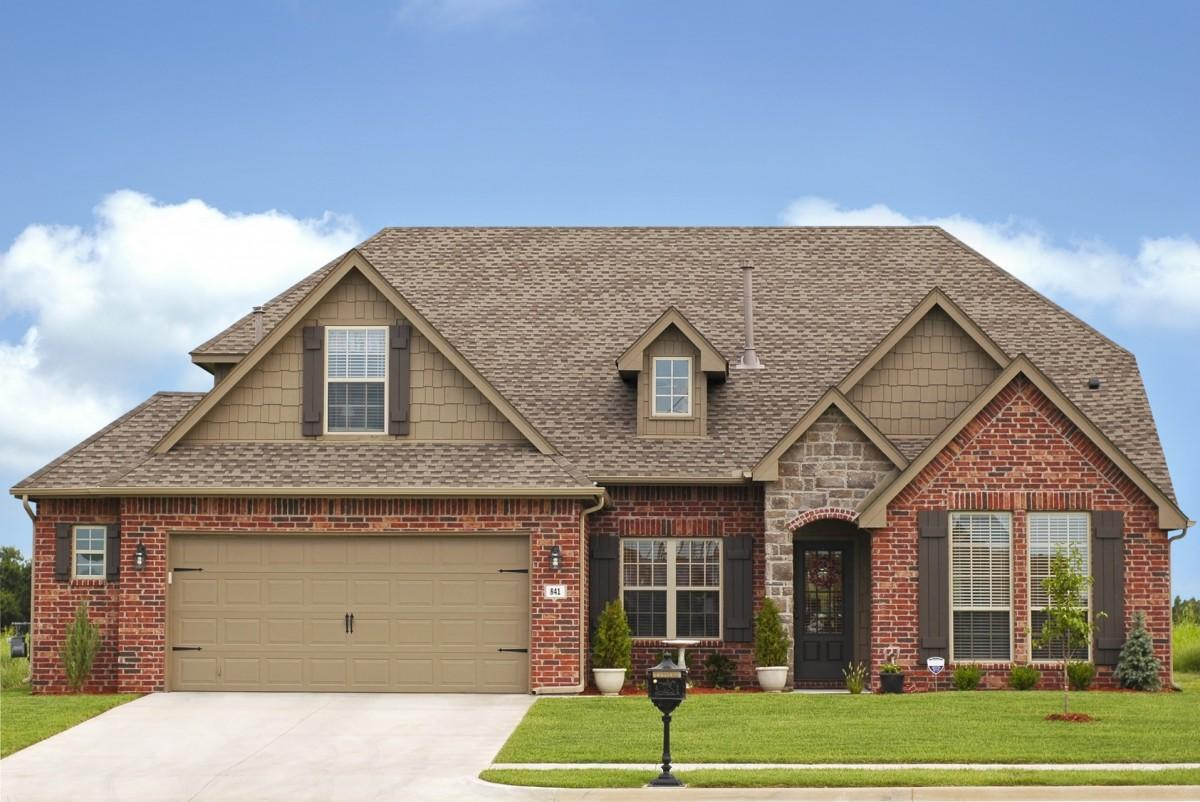 exterior paint colors with used brick photo - 10
