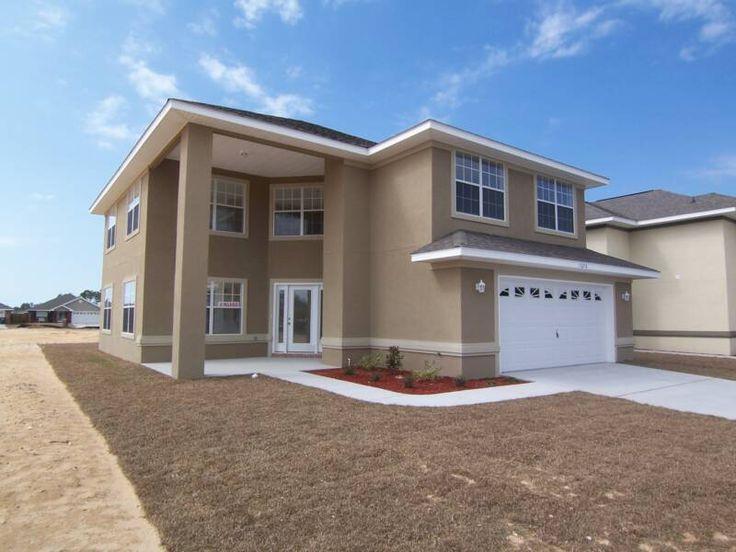 exterior paint colors with white trim photo - 6