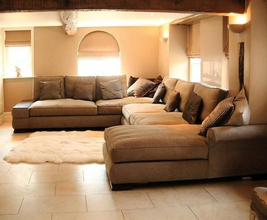 extra large sectional sleeper sofa photo - 1