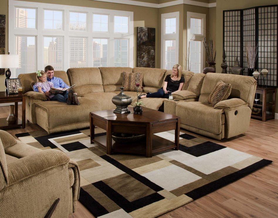 extra large sectional sleeper sofa photo - 2
