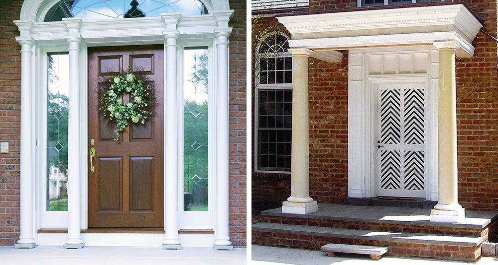 extra wide exterior french doors photo - 7