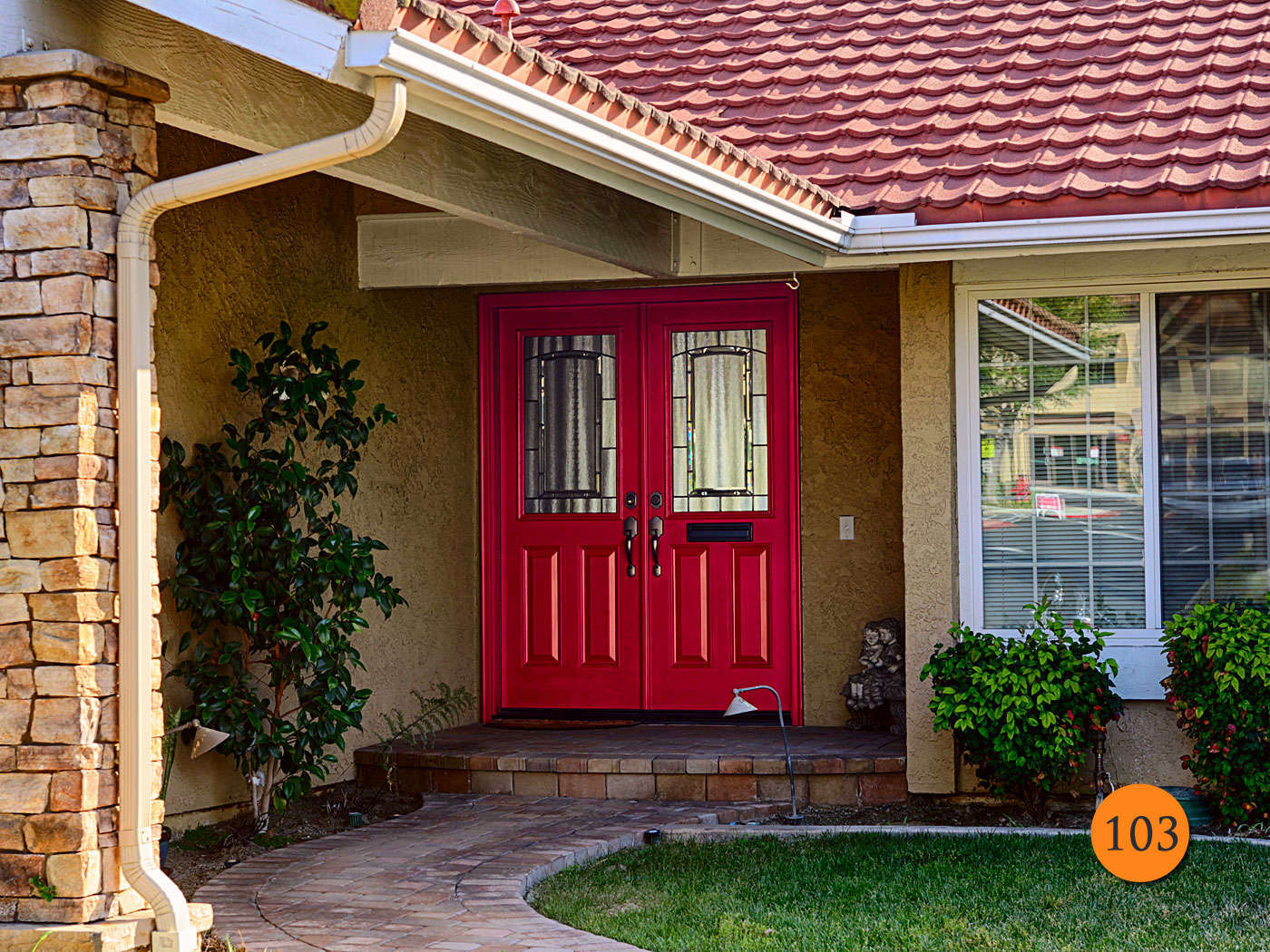 extra wide exterior french doors photo - 9